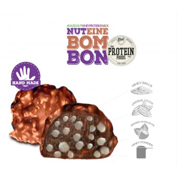 NUTEINE BOMBON (Bombones estilo rocher proteicos)