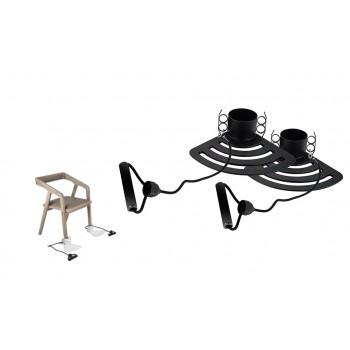 Extensor de ejercicio brazos adaptable a sillas