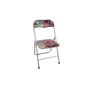 Pack de 6 sillas plegables acolchadas de diseños exclusivos