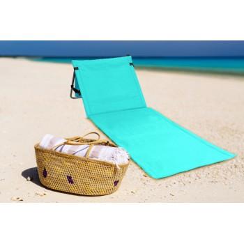 Colchoneta/tumbona de playa plegable