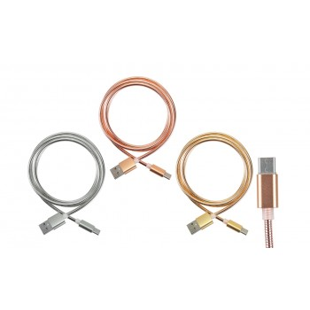 Cable de Carga Metal Shine