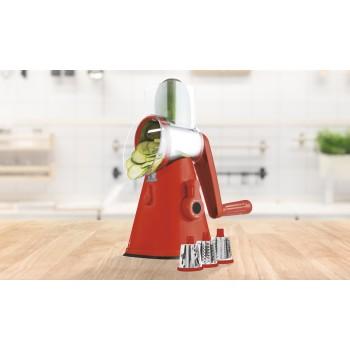 Cortador de verduras manual (rallador/cortador)