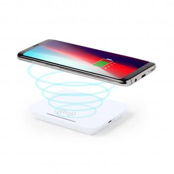 Cargador inalambrico con funcion soporte de smartphone