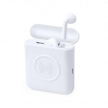 Set de auriculares intraurales con batería auxiliar externa y carga inalámbrica
