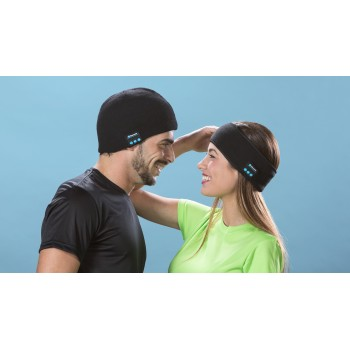 GORRO Y CINTA CON Bluetooth® integrado