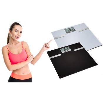 Báscula con medidor de grasa e hidratación corporal