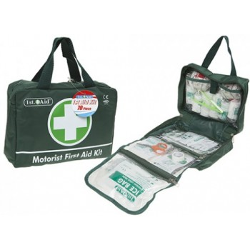 Kit Médico de primeros auxilios Jumbo de 70 piezas especial motorista