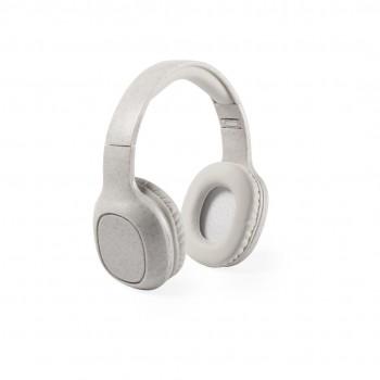 Auriculares de diadema en cña de trigo ECO con conexión Bluetooth® 5.0.