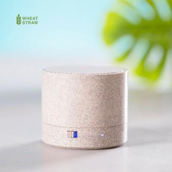 Compacto altavoz con carcasa en caña de trigo y conexión Bluetooth® 5.0