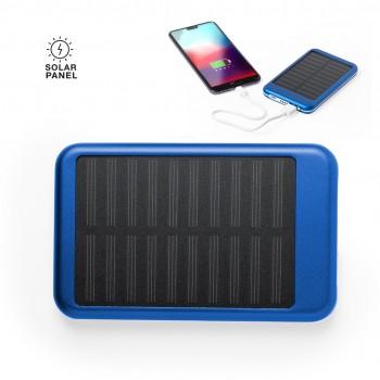 Batería auxiliar externa de recarga solar y de gran capacidad de carga -4.000 mAh-