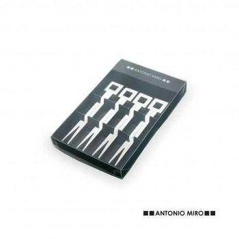 Set de tenedores de acero inox de Antonio Miró
