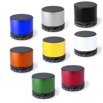 Compacto altavoz metálico de conexión Bluetooth