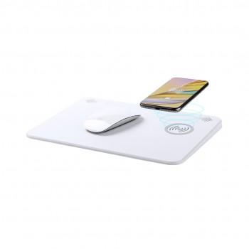 Alfombrilla de ratón multifunción con carga inalámbrica, conexión Bluetooth y altavoces integrados