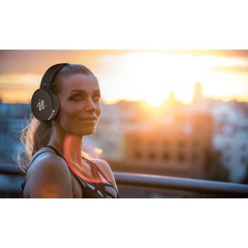 Auriculares de diadema Bluetooth con radio FM