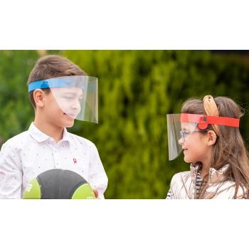 Pantalla facial para niño