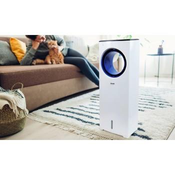 Enfriador, humidificador y ventilador con 4 L de capacidad