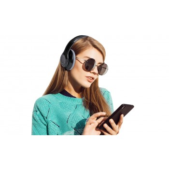 Auriculares plegables de diadema con conexión Bluetooth