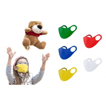 Mascarilla elástica para niño de alta respirabilidad