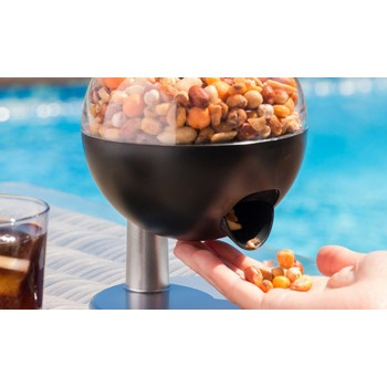 Dispensador de golosinas, frutos secos, cereales autómático con sensor