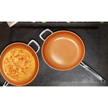 Sartén cerámica de cobre 28 cm