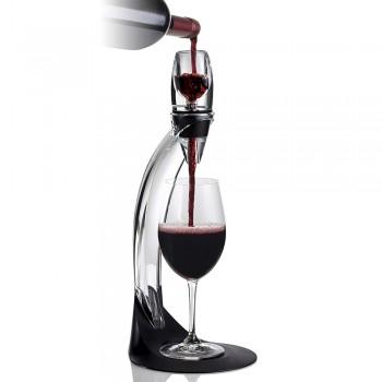 Decantador y aireador de vino con soporte