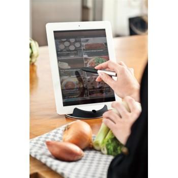 Soporte de cocina para tablet con bolígrafo táctil