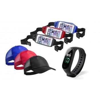 Pack deportivo con pulsera de salud