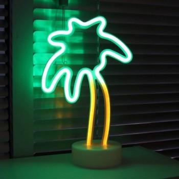 Neon decorative lamp Palm-shaped