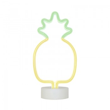 Decorative Neon Lamp In Pineapple Shape