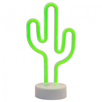 Neon decorative lamp with Cactus shape