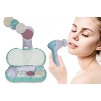 Cepillo de limpieza facial giratorio 4 en 1