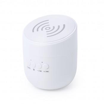 Cargador Inalámbrico con Altavoz Bluetooth