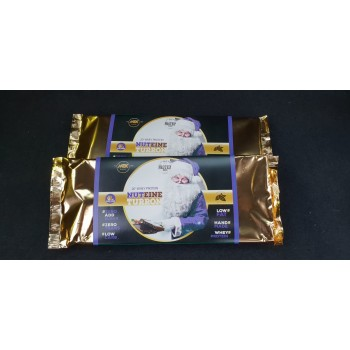 Pack de 3 - TURRON DE CHOCOLATE CON LECHE, AVELLANAS, PROTEINA DE SUERO Y EDULCORANTES